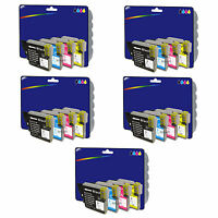 20 Inks - Compatible Printer Ink Cartridges for Brother DCP-167C [LC980]