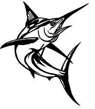 2 pegatinas marlin fish pescado auto sticker decal 15 cm tuning JDM