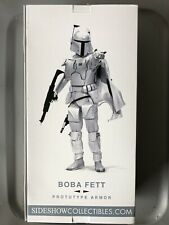 **RARE**SIDESHOW COLLECTIBLES - STAR WARS - BOBA FETT PROTOTYPE ARMOR - 1:6