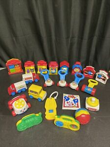 22 Vintage MCDONALD'S 1996 Fisher Price Under 3 Toys - Out of Package