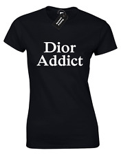 DIOR ADDICT LADIES T SHIRT COOL FASHION INSTAGRAM KYLIE KENDALL JENNER TUMBLR