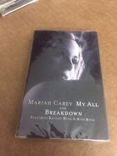 MARIAH CAREY MY ALL BREAKDOWN FACTORY SEALED CASSETTE SINGLE C6