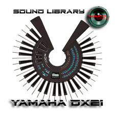 YAMAHA DX21 HUGE Original Factory & New Created Sound Library/Editors on CD