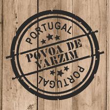 Vinilo de Corte Povoa de Varzim Pegatina Povoa de Varzim Portugal 10 cm Adhesivo