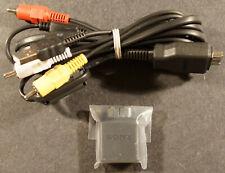 Sony DSC-HX1 HDMI Adaper, and A/V USB Breakout Cable, NEW !!!