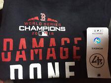 Boston Red Sox '47 World Series Champions Damage Done Hoodie Sweatshirt Women's