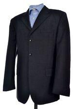 DOLCE & GABBANA Solid Gray Wool Center Vent Mens Sport Coat Blazer Jacket - 42 R