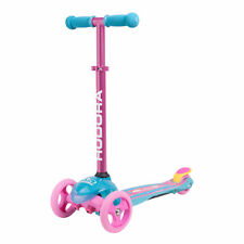 Children's Scooter Scooter for Girls with Safety Handlebar