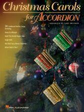 Christmas Carols for Accordion Accordion Book NEW 000311441