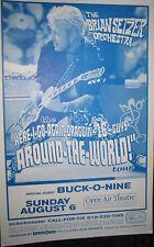 BRIAN SETZER ORCHESTRA POSTER + HANDBILL Buck-O-Nine ORIGINAL SAN DIEGO STATE