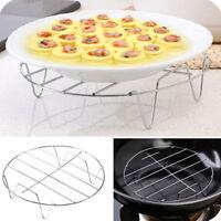 Steam rack stand steamer basket for dish stainless steel multi-functional rackME