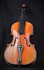 Vieja violín violín de madera con carteles antonio stradivarius Anno 1723
