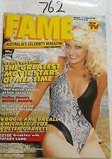 FAME (with TV SOAP) 1986 MAR 17,MICHAEL J FOX POSTER,ACP,TIFFANY LAMB,N/MINT
