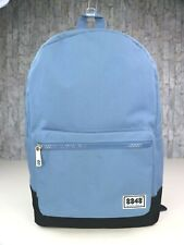 8848 Light Blue Backpack Unisex Adjustable Padded Straps Pocket Headphone Hole