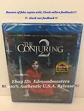 The Conjuring 2 Blu ray+ Digital HD,  2016 Brand New Sealed (Beware of Fakes)