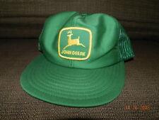 Vtg John Deere Patch Snapback Trucker Hat Cap 70s 80s Louisville MFG Made in USA