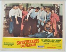 "Vintage ""Sweethearts On Parade"" Original Lobby Card 11X14 - Ray Middleton #2"