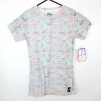 Forum Snowboards Womens SS1 Dots T-Shirt Size M Multicoloured T-Shirt