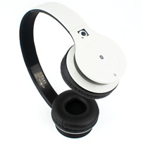 WHITE WIRELESS BLUETOOTH HEADSET   Gembird Berlin with Built-in Microphone