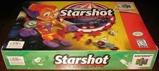 Starshot: Space Circus Fever (Nintendo 64) SealED!!