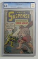 Tales of Suspense #40 (Jack Kirby) Silver Age-Marvel Comic CGC 5.5 {Generations}