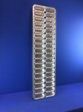 """AMERICAN PAN 36-CAVITY INDUSTRIAL BAKING PAN TWINKIES 40"""" X 11"""" (2-Rows of 18)"""