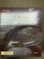 LG Tone Active A100 Stereo Bluetooth Headset - Black/Blue