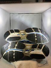 ASICS GT 2000 Running Shoes Men's size 14 White Blue Athletic Sport