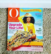 Oprah Winfrey Signed Autograph Oprah Magazine Rare Obama Celebrity USA