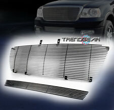 2006 2007 2008 FORD F-150 UPPER + BUMPER LOWER BILLET GRILLE GRILL 2PCS POLISHED