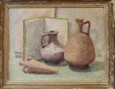 Stan Reszka (Born 1924) French Impressionist POINTILLIST Still Life Oil Painting