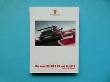 Prospekt / Buch / Katalog / Brochure Porsche 911 (997.2) GT3 und GT3 RS  07/09