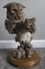 """MILL CREEK RARE TIGER 15"""" SCULPTURE LIMITED INTRUSION SIGNED RANDALL READING"""