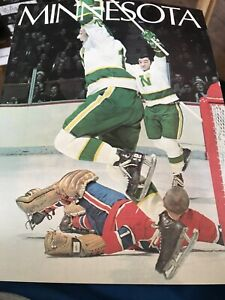 Minnesota North Stars Program Album Hockey 1970 GREAT CONDITION Bill Goldsworthy
