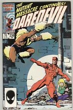 Daredevil #238 January 1987 VF Sabretooth
