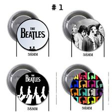 The Beatles - 4 chapas, pin, badge, button, new