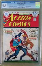 Action Comics #431 (Jan 1974, DC) CGC 9.4 NM (Green Arrow back-up story, Batman)