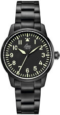 Watch Mens Laco Melbourne 861899 of Black Stainless Steel