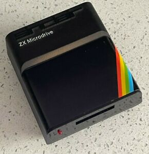 Sinclair ZX Microdrive for the ZX Spectrum with Re-felted Cartridge TESTED