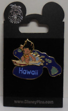 Disney Pin DLR WDW 2002 State Character Pins Hawaii/Lilo Pin