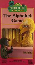 My Sesame Street The Alphabet Game(VHS 1988)TESTED-RARE VINTAGE-SHIPS N 24 HOURS