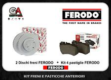 Kit Dischi freno e pastiglie Ford Focus 2 1.6 tdci 90cv 109cv anteriori Ferodo