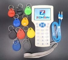 English Rfid NFC Copier Reader Writer Cloner 10 Frequency Programmer+10x Keyfobs
