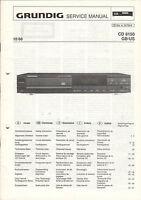 Grundig Service Anleitung Manual CD 8150  B778