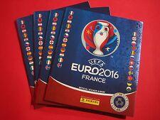 Panini 4 x Album EURO 2016 Schweiz Star Edition - France EM 2016 Swiss Leeralbum