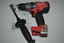"""New Milwaukee Fuel M18 Brushless 2704-20 18V 18 Volt  1/2"""" Hammmer Drill Driver"""