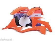 Kit plastiques Polisport  Couleur Origine Pour KTM EXC450 EXC500  2012-2013