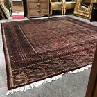 9 FT. X 8 1 / 2 FT. HAND MADE ORIENTAL WOOL RUG PAKISTAN TIGHT WEAVE EXCELLENT