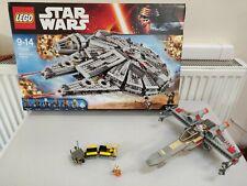 Lego Millennium Falcon 75105 & 7140 Xwing