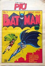 BATMAN IL MESSAGERO PIU' n.1 BOB KANE spring issue FUMETTO